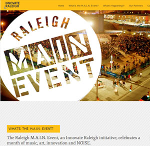 Raleigh M.A.I.N. Event