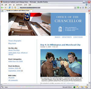 UNC Chapel Hill Chancellor's Blog